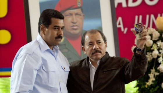 Nicolás, Maduro, Venezuela, Daniel ortega, Nicaragua