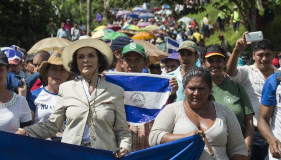 defensa de la tierra, defensores de la tierra, Nicaragua