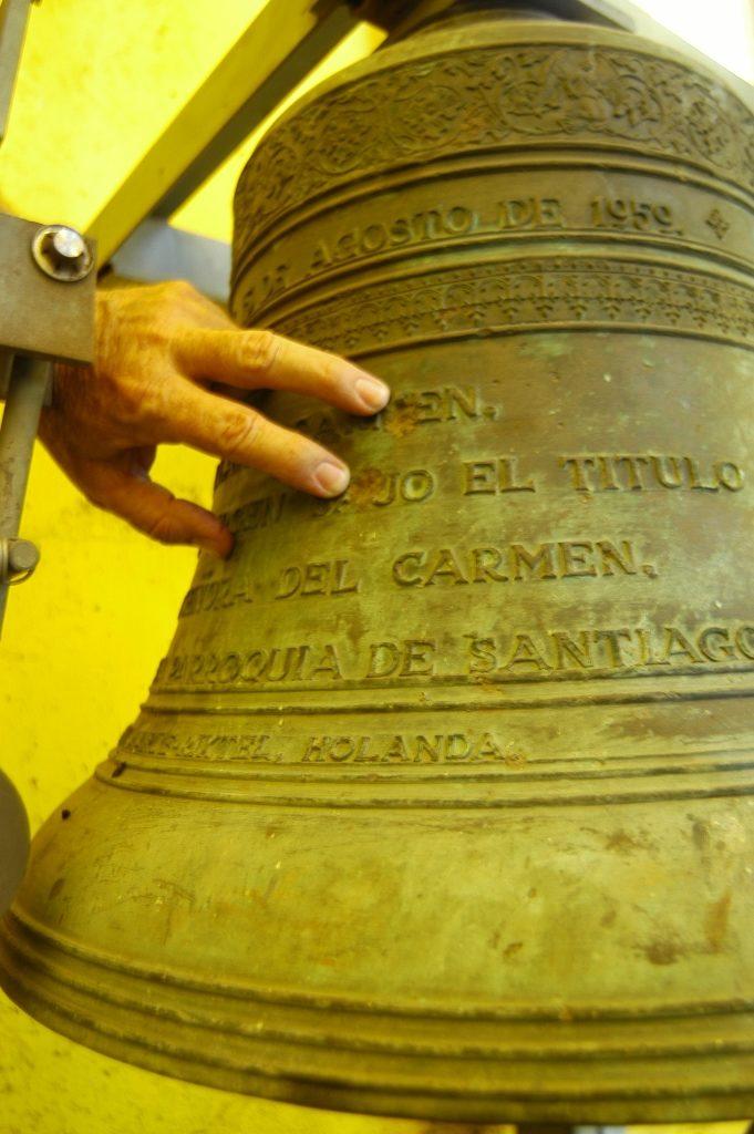 Campanas de la antigua Catedral Metropolitana Santiago Apóstol. LAPRENSA/ARCHIVO
