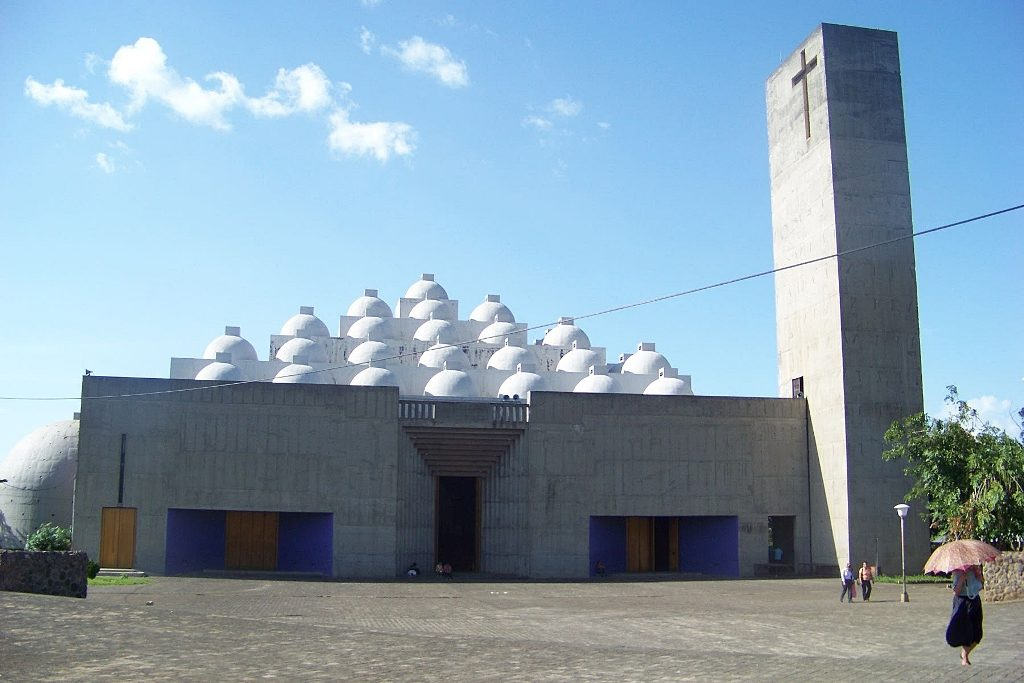 Catedral Metropolitana Inmaculada Concepción de María, en Managua. LAPRENSA/EMILIANO CHAMORRO