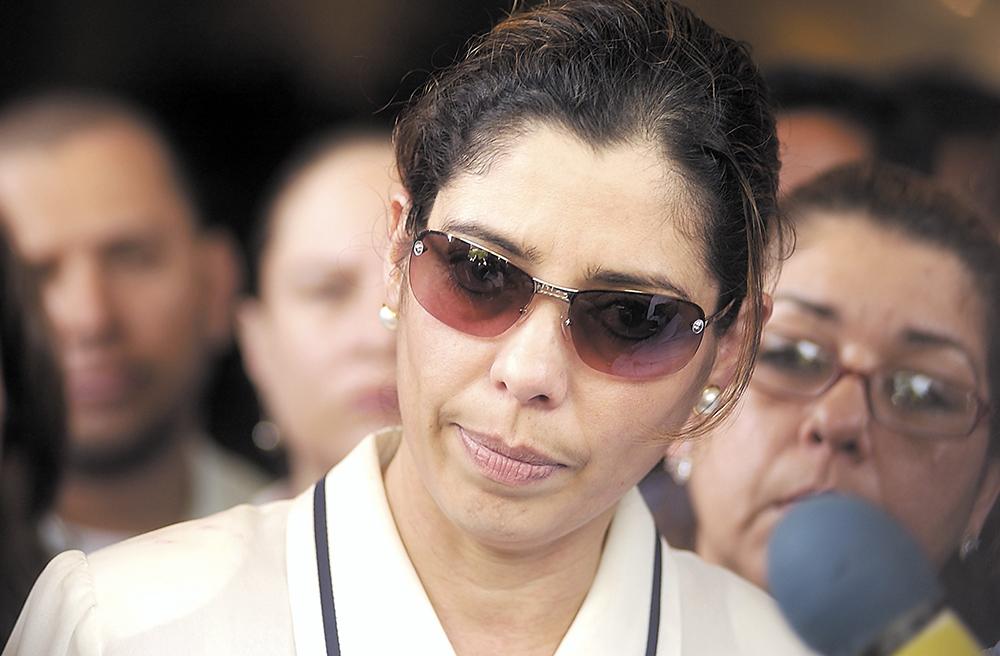 Carmen García, esposa de Herty Lewites. LA PRENSA / Archivo