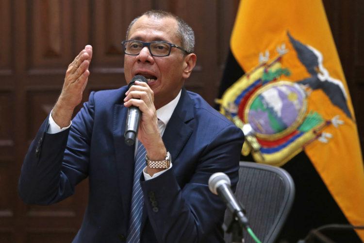 Vicepresidente de Ecuador, Jorge Glas, Odebrecht