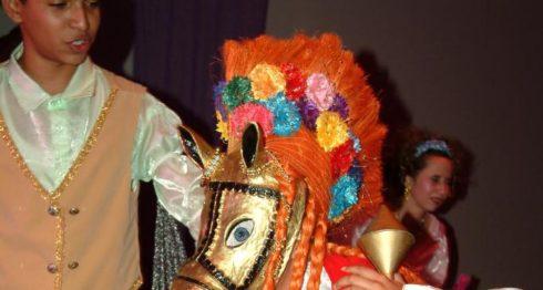 El bailete antiguo de El Güegüense ha sido recreado por Irene López, con nuevos sones y danzas, y destacado la participación de las mujeres con su propio parlamento de comedia. LAPRENSA/Cortesía Irene López