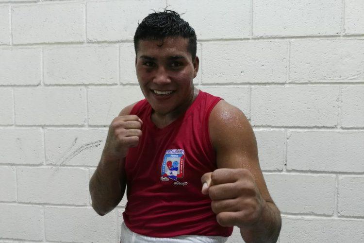 Jeffrey González desea permanecer el mayor tiempo posible en la Selección Nacional de Boxeo. Foto: Bayron Saavedra/ LA PRENSA