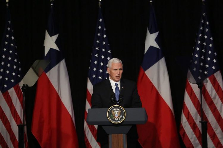 Mike Pence, Estados Unidos