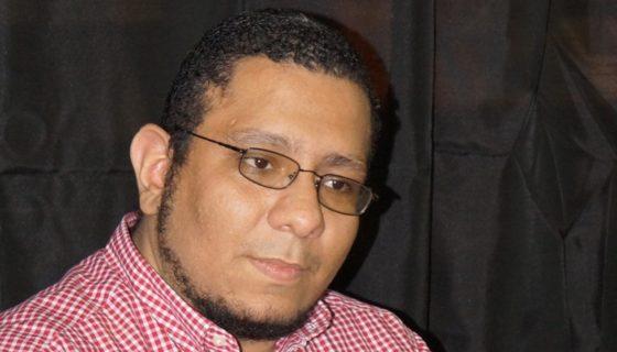 Escritor Ulises Juárez Polanco. LAPRENSA/Arnulfo Agüero