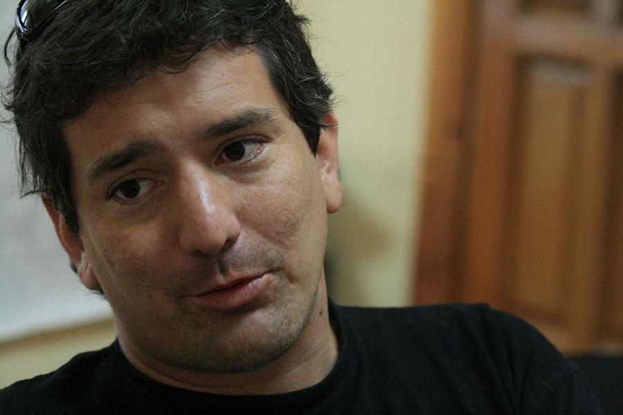 Escritor chileno Santiago Roncagliolo, Premio Alfaguara de novela 2006.LA PRENSA Archivo
