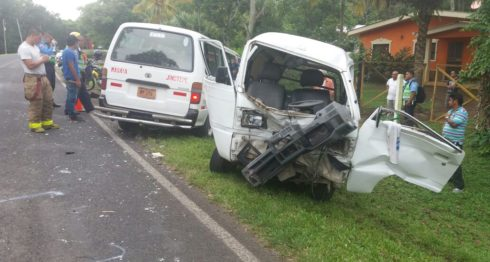 Jinotepe, accidentes de tránsito