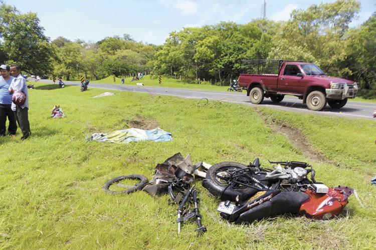Rivas, accidente de tránsito