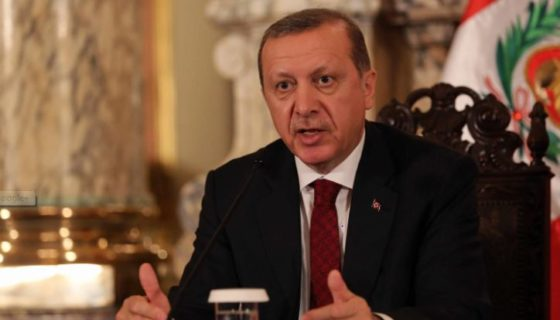 presidente islamo conservador turco Recep Tayyip Erdogan. LA PRENSA/EFE