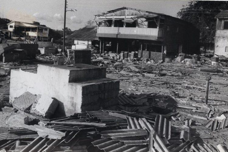 maremoto, Pacífico de Nicaragua
