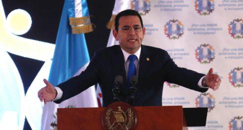 Jimmy Morales, Guatemala, salarios