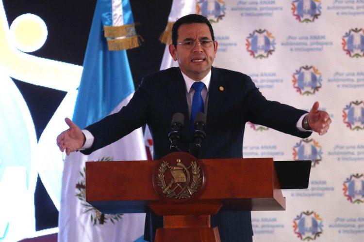 Jimmy Morales, Guatemala, Cicig