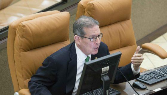 Alfredo César, plenaro, voto, reforma electoral