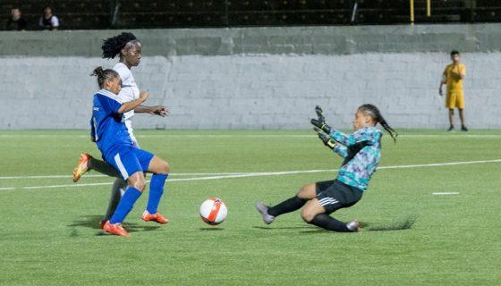 Las Águilas de León golearon en la primera jornada del Campeonato Interclubes Femenino de la Uncaf. LA PRENSA/URIEL MOLINA