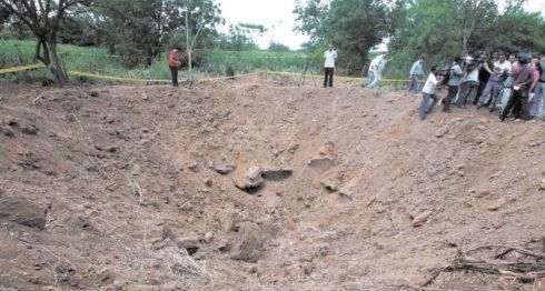 meteorito, meteorito en nicaragua, meteorito en Managua, Managua
