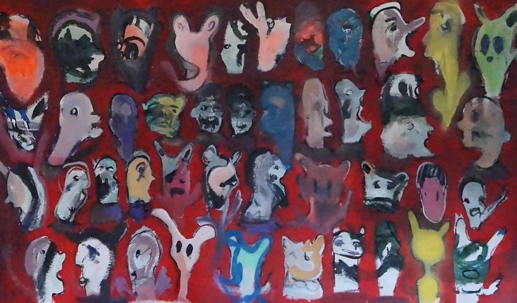 Obra que recuerda la tragedia de los 43 estudiantes desaparecidos de Ayotzinapa. LAPRENSA/Arnulfo Agüero