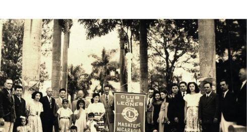 Club de Leones de Masatepe. LAPRENSA/Cortesía/ Fundación Luisa Mercado