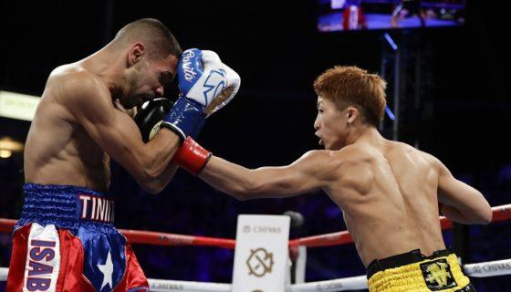 """Naoya """"Monstruo"""" Inoue enfrenta a Antonio """"Carita"""" Nieves en la pelea semiestelar de la velada """"Superfly"""". LA PRENSA/AP/Chris Carlson"""