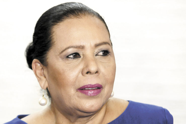 Daysi Ivette Torres, alcaldesa inconstitucional de Managua. LA PRENSA/ARCHIVO