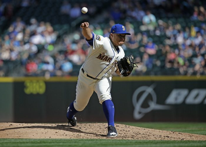 Erasmo Ramírez lleva seis aperturas de calidad de manera consecutiva, aunque solo gana en una. LA PRENSA/AP/Ted S. Warren