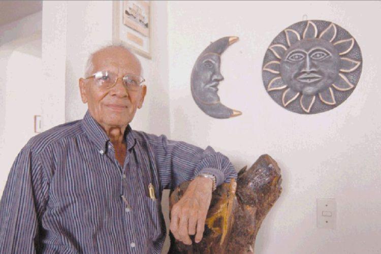 Camilo Zapata, el Padre del Son Nica, nació un 25 de septiembre de 1917 y falleció un 23 de junio del 2009. LAPRENSA/Archivo