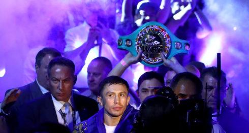 Gennady Golovkin peleará el 5 de mayo en Carson, California, ante el armenio Vanes Martirosyan. LA PRENSA/AFP