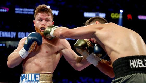 Canelo Golovkin, boxeo