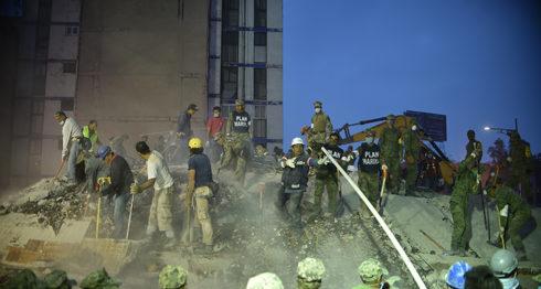terremoto en México, México