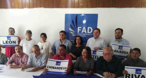 FAD califica de farsa votaciones de noviembre