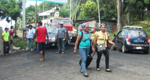 Bluefields, paro de taxistas