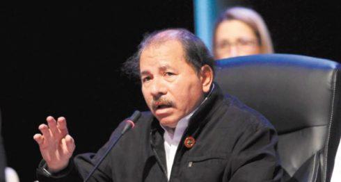 Daniel Ortega, presidente designado por el poder electoral.