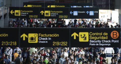 Aeropuerto Internacional de Tocumen en Panamá. FOTO: LA PRENSA/ AP