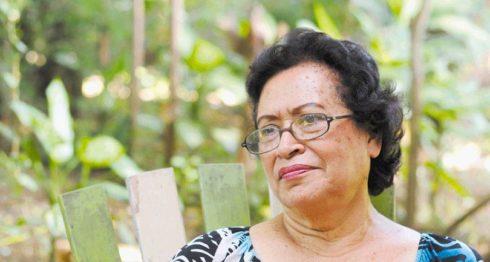 Poeta Ana Ilse Gómez. LA PRENSA/ARCHIVO