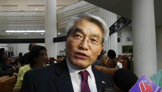 Corea del Sur, Nicaragua, embajador