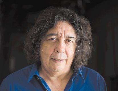 Escritor Mario Urtecho presenta su libro La Mujer del Padre Prado. Oscar Navarrete/ LA PRENSA.