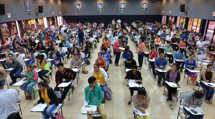 bachilleres, exámenes de admisión, UNAN-MANAGUA