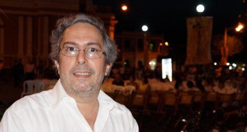 Poeta Pedro Xavier Solís. LAPRENSA/Arnulfo Agüero/Archivo