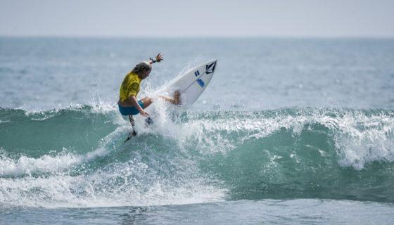 Valentina Resano sigue activa en la categorías Sub-16, aunque se despidió de la Sub-18, en el Mundial de Surf Junior.