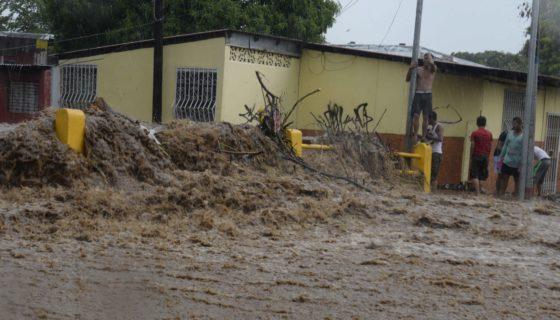Managua, Lluvias, Cauces