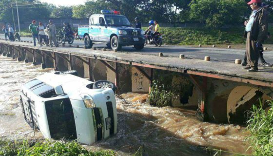 Estelí, accidente, río Estelí