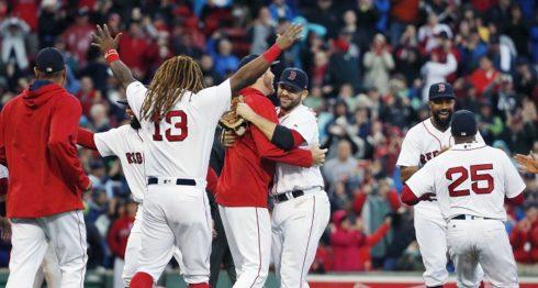 Los Medias Rojas de Boston ganaron por segundo año consecutivo el banderín del Este de la Liga Americana en 2017. LA PRENSA/AP/Michael Dwyer