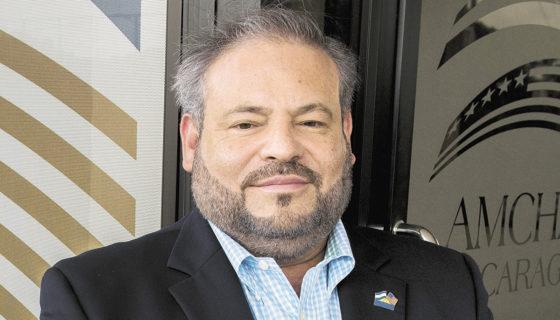 Álvaro Rodríguez, presidente de Amcham. LA PRENSA/ARCHIVO/U. MOLINA