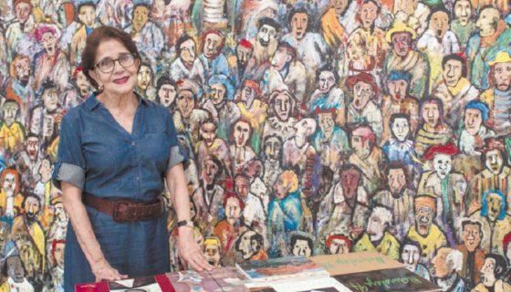 Además de promover obras de arte, realizó las publicaciones de los Cuadernos de la plástica nicaragüense y libros sobre el escultor Fernando Saravia y el pintor Orlando Sobalvarro. LA PRENSA/ YADER FLORES
