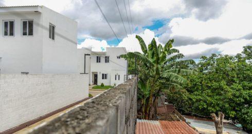 Managua, muros, lluvia, lluvias
