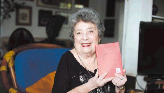 El próximo mes le será entregado a la poeta Claribel Alegría el Premio Reina Sofía de Poesía Iberoamericana 2017. LA PRENSA/MANUEL ESQUIVEL