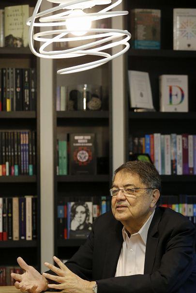 Escritor Sergio Ramírez Mercado. LA PRENSA/EFE/Mariscal