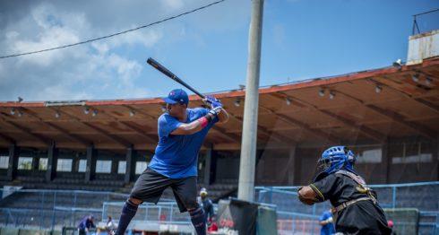 La Preselección Nicaragüense de Beisbol jugará tres partidos ante Taiwán entre el 20 y 22 de octubre. LA PRENSA/CARLOS VALLE