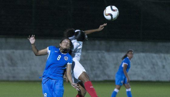 La Selección Femenina Sub-17 se prepara para el Premundial que se realizará en Managua. LA PRENSA/URIEL MOLINA