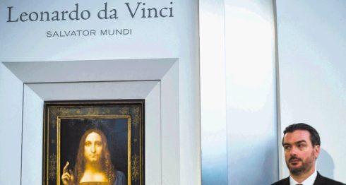 Salvator Mundi, pintura de Jesús